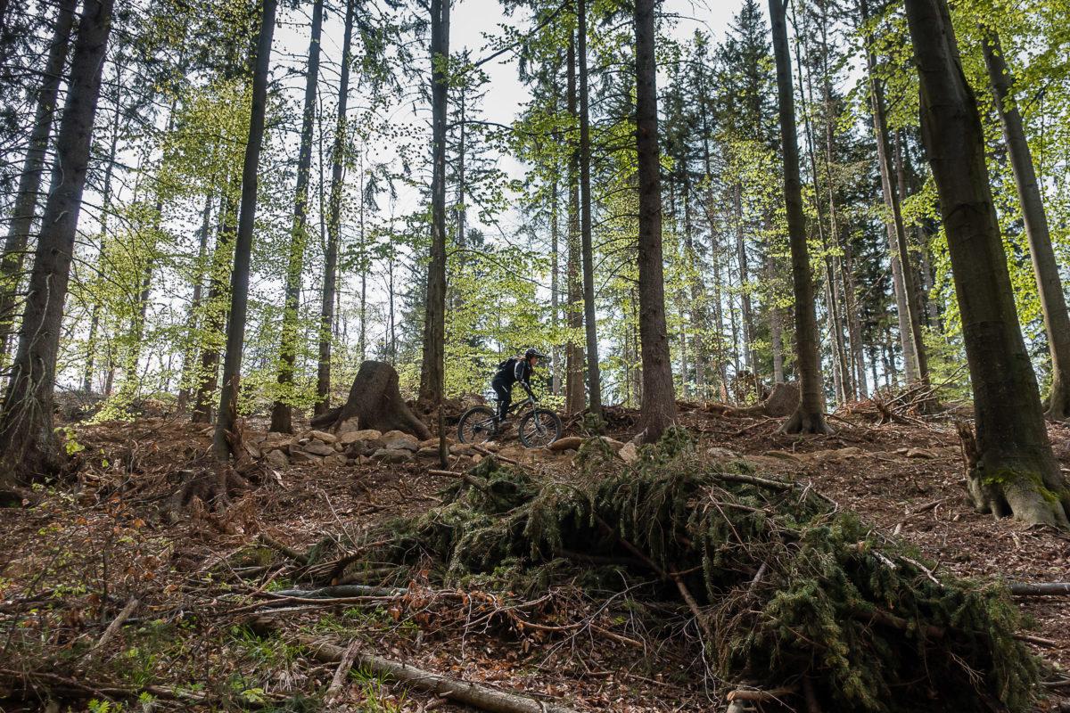 Enduro MTB Trails im Olbrzymy