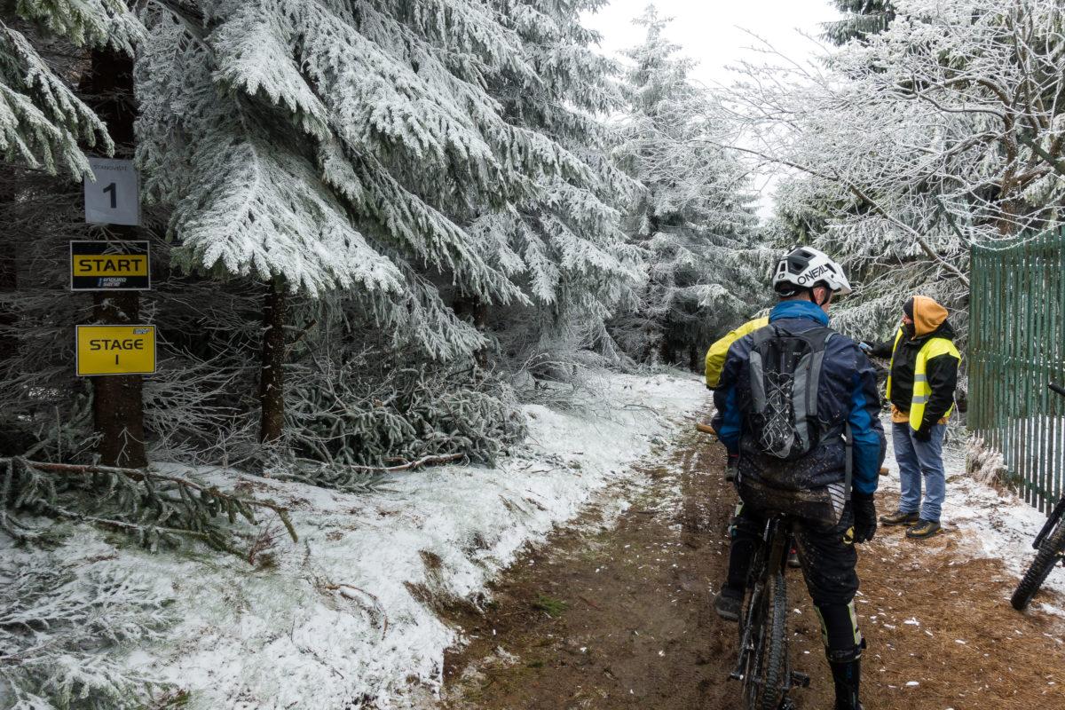 MTB Enduro Race Ještěd 2019: Start Stage 1