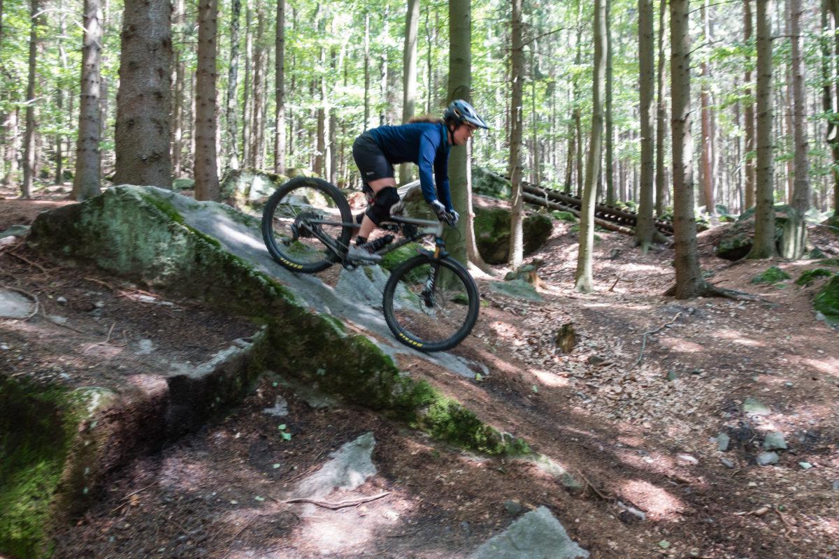Enduro-MTB-Training auf den Trutnov Trails